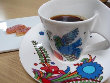 エル・マハウアル農園のコーヒーとオレンジピール