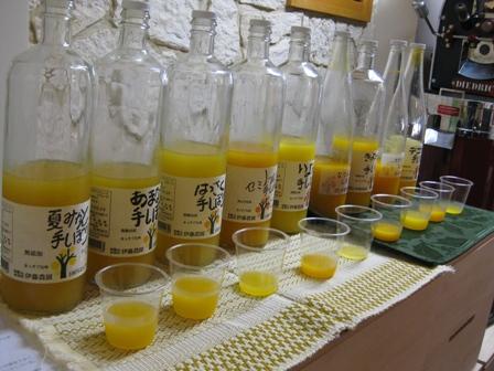 伊藤農園ジュース飲み比べ1